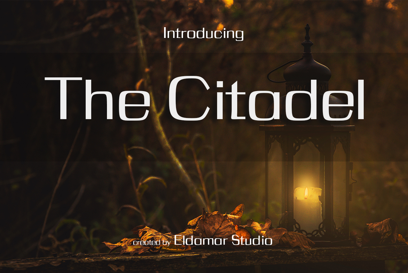 The Citadel Font example image 1