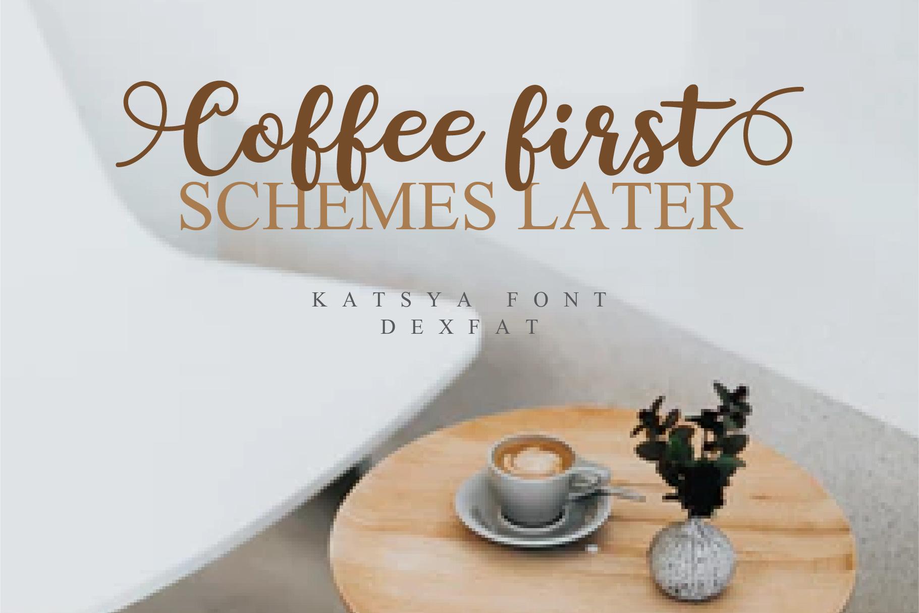 Katsya Script example image 3