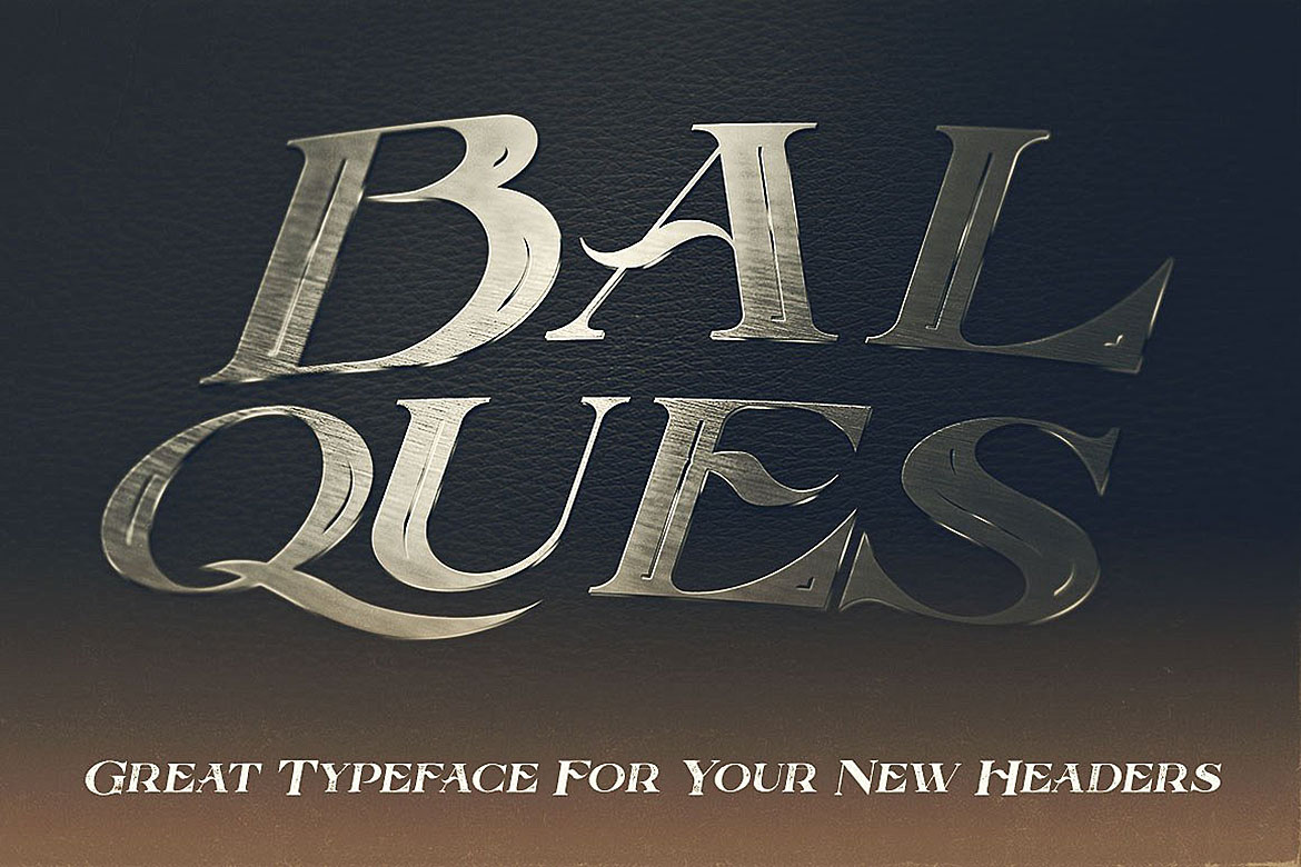 Balques Typeface example image 6