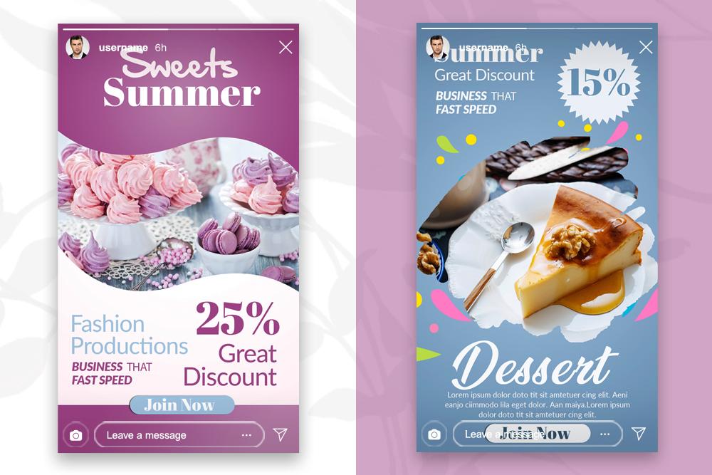 4 Bakery & Sweet Instagram Stories example image 3