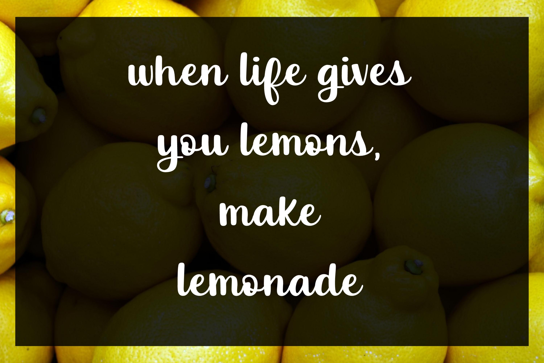 Luscious Lemon - A thick script font example image 5