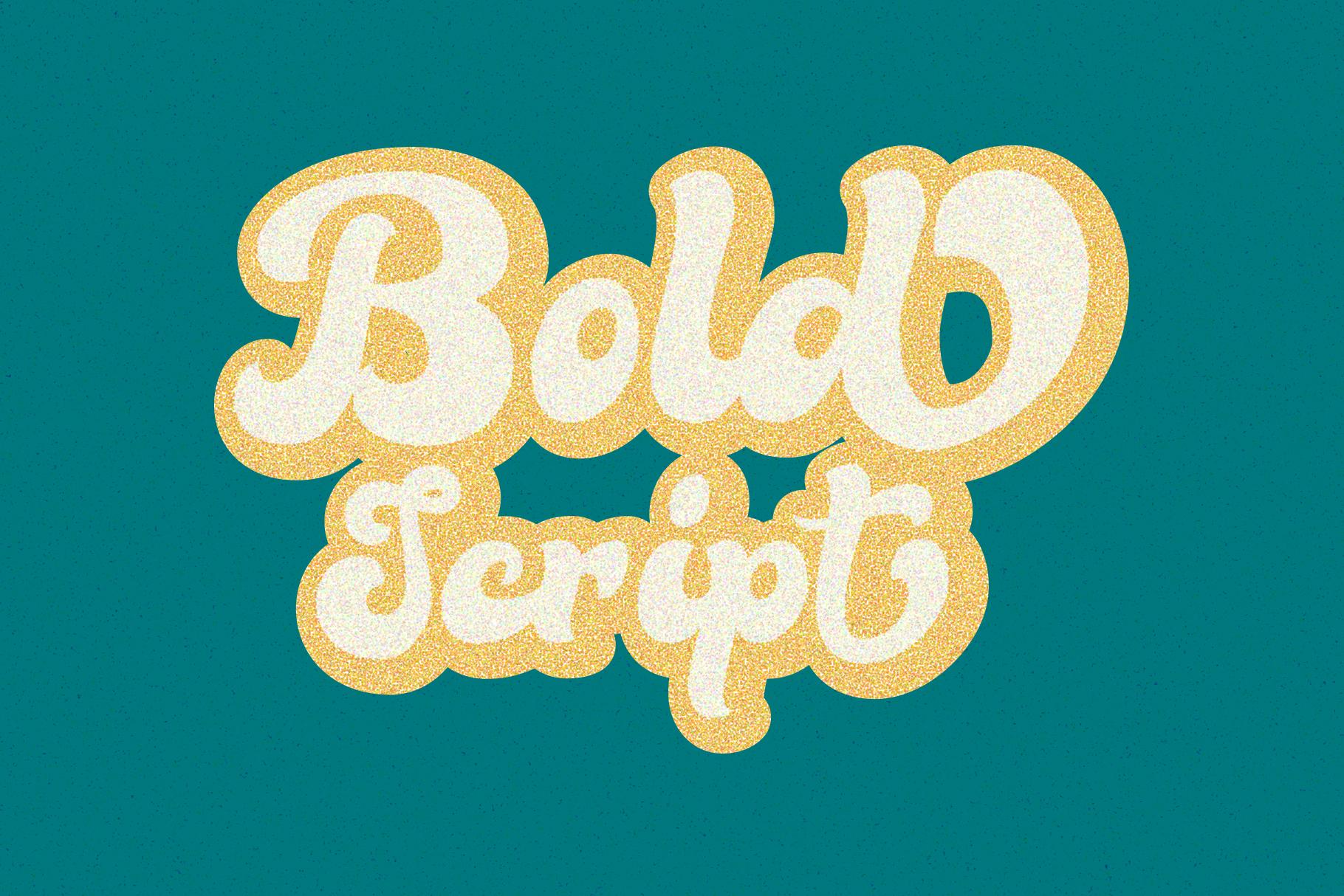 Bella - Vintage Script Font example image 2