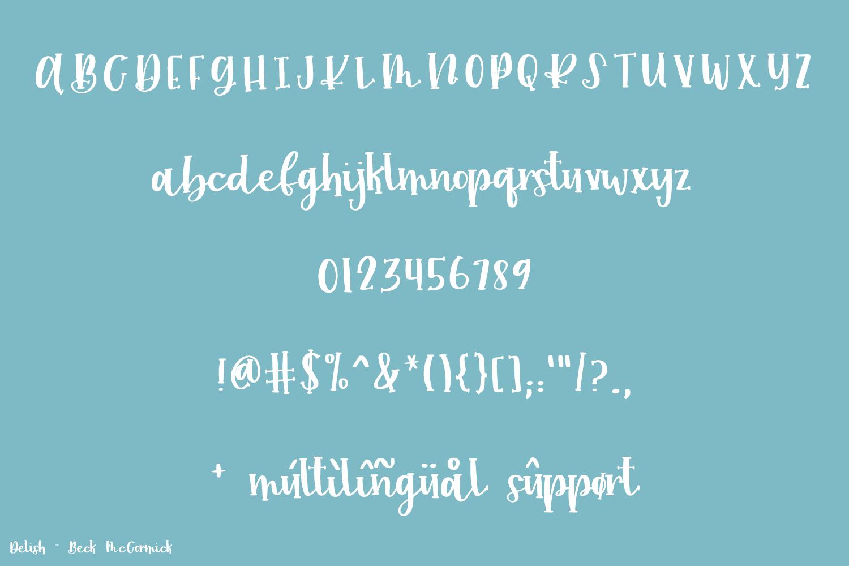 Delish Script example image 10