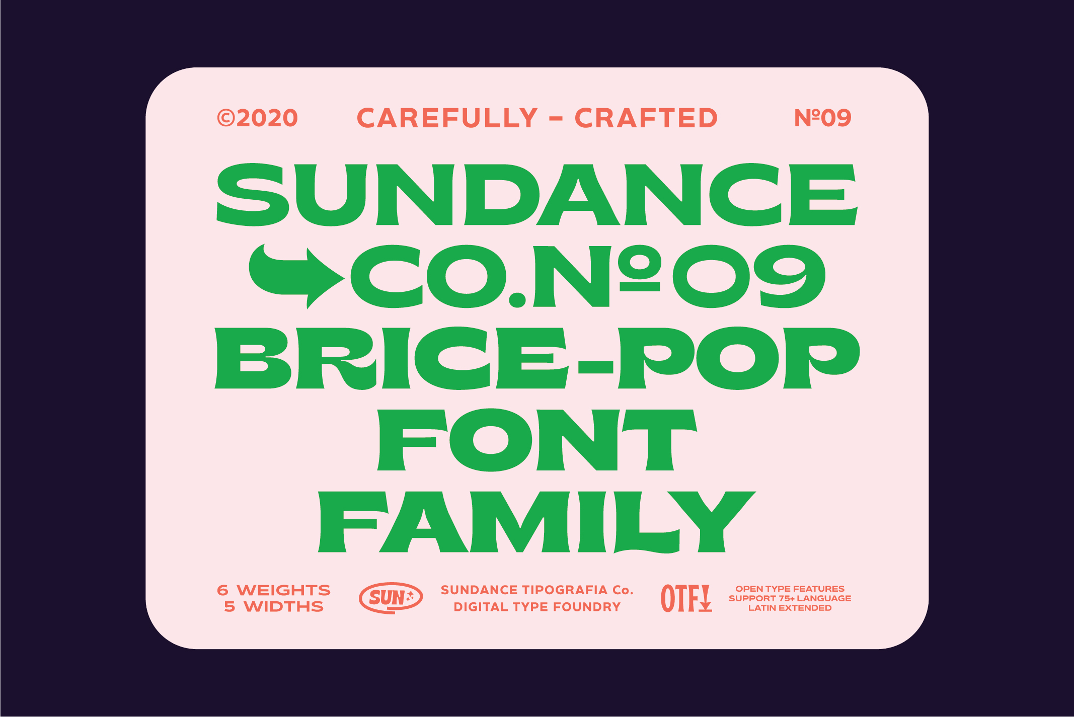 Brice Font Family example image 2