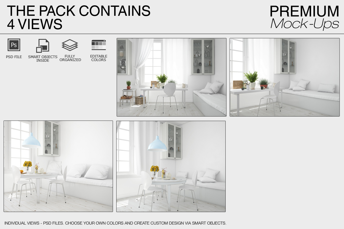 Pillows & Curtains Set - Kitchen example image 14