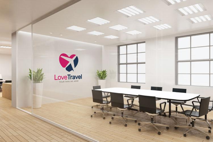 Travel Love Logo example image 3