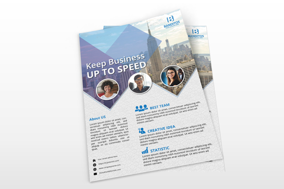 Modern Business Flyer example image 3