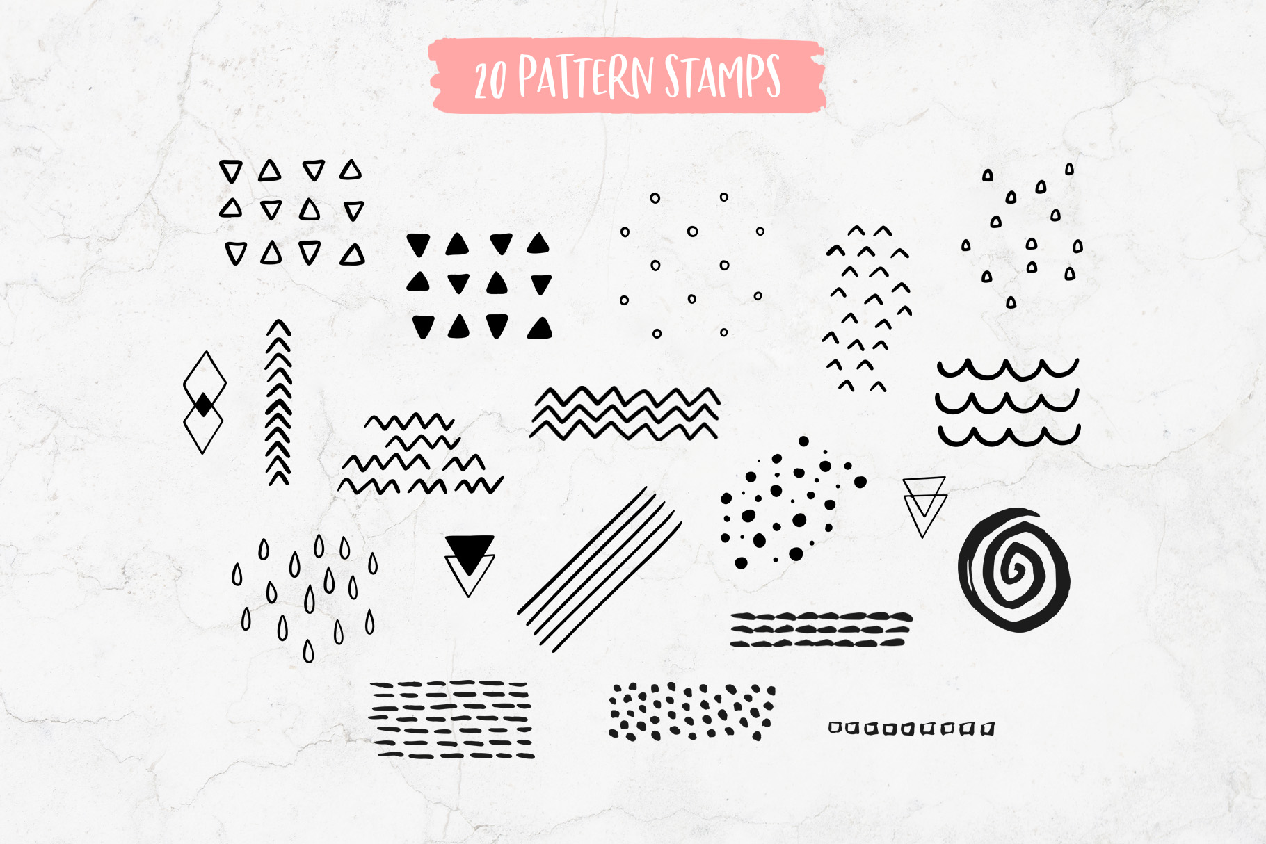 Funky Brushes Collection for Procreate example image 9