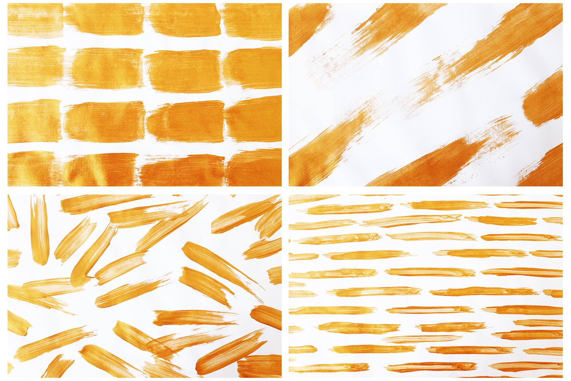 Gold & White Backgrounds, Wedding Invitation Papers example image 4