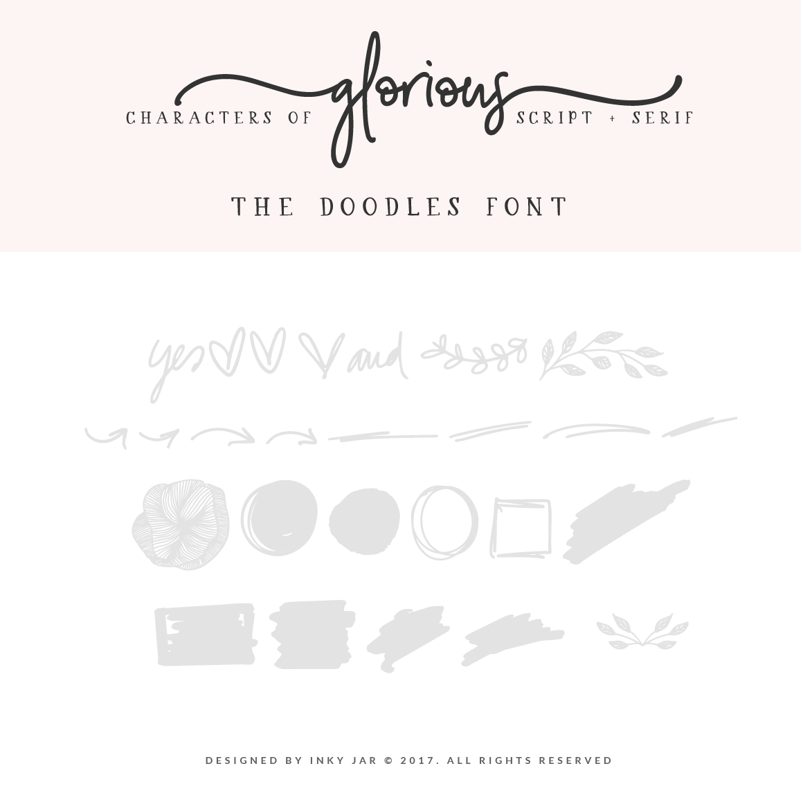 Glorious Font Duo Extras example image 13