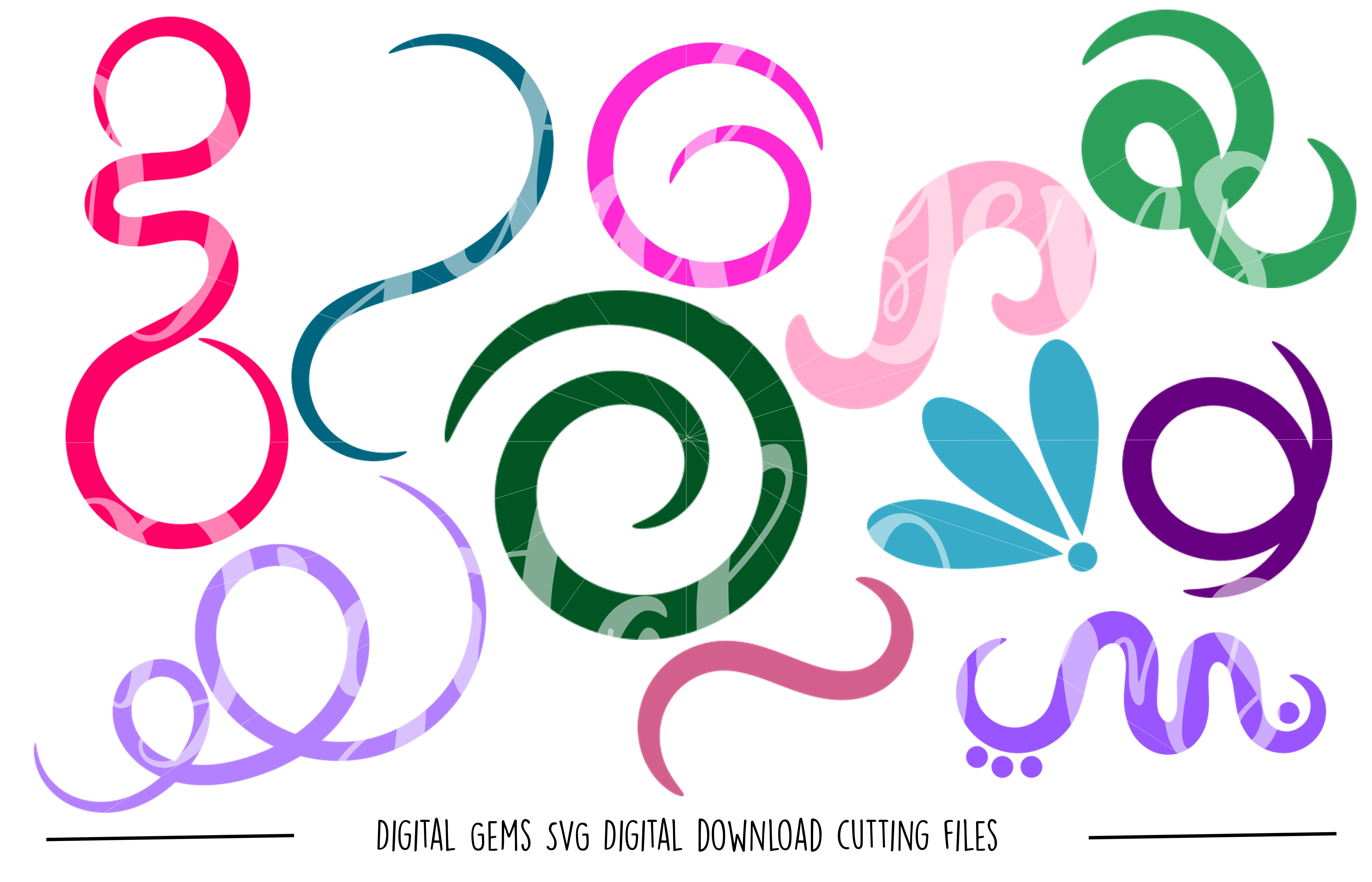 Shape SVG / PNG Files example image 1