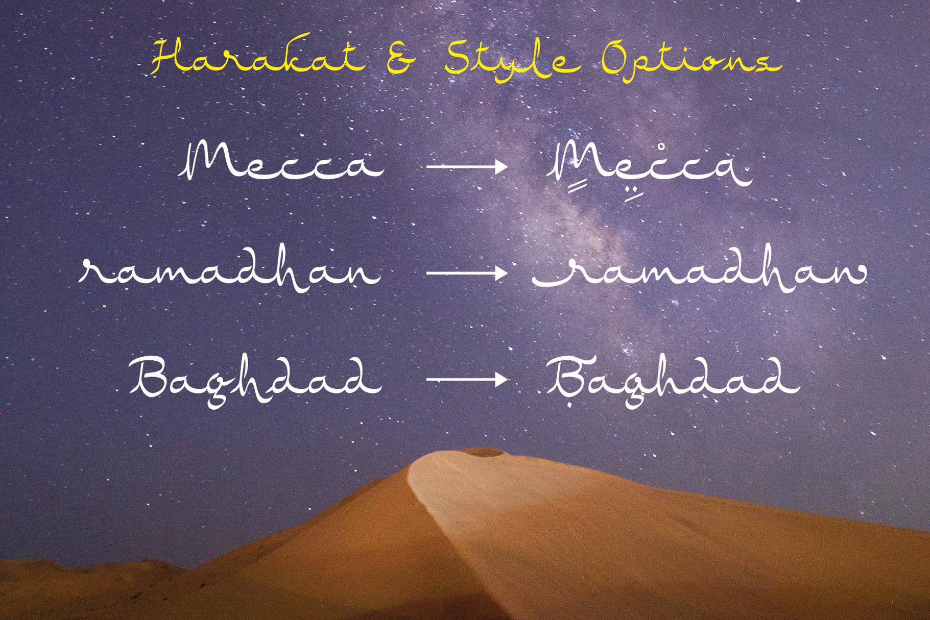 Rasyideen - Arabic Style Typeface example image 7