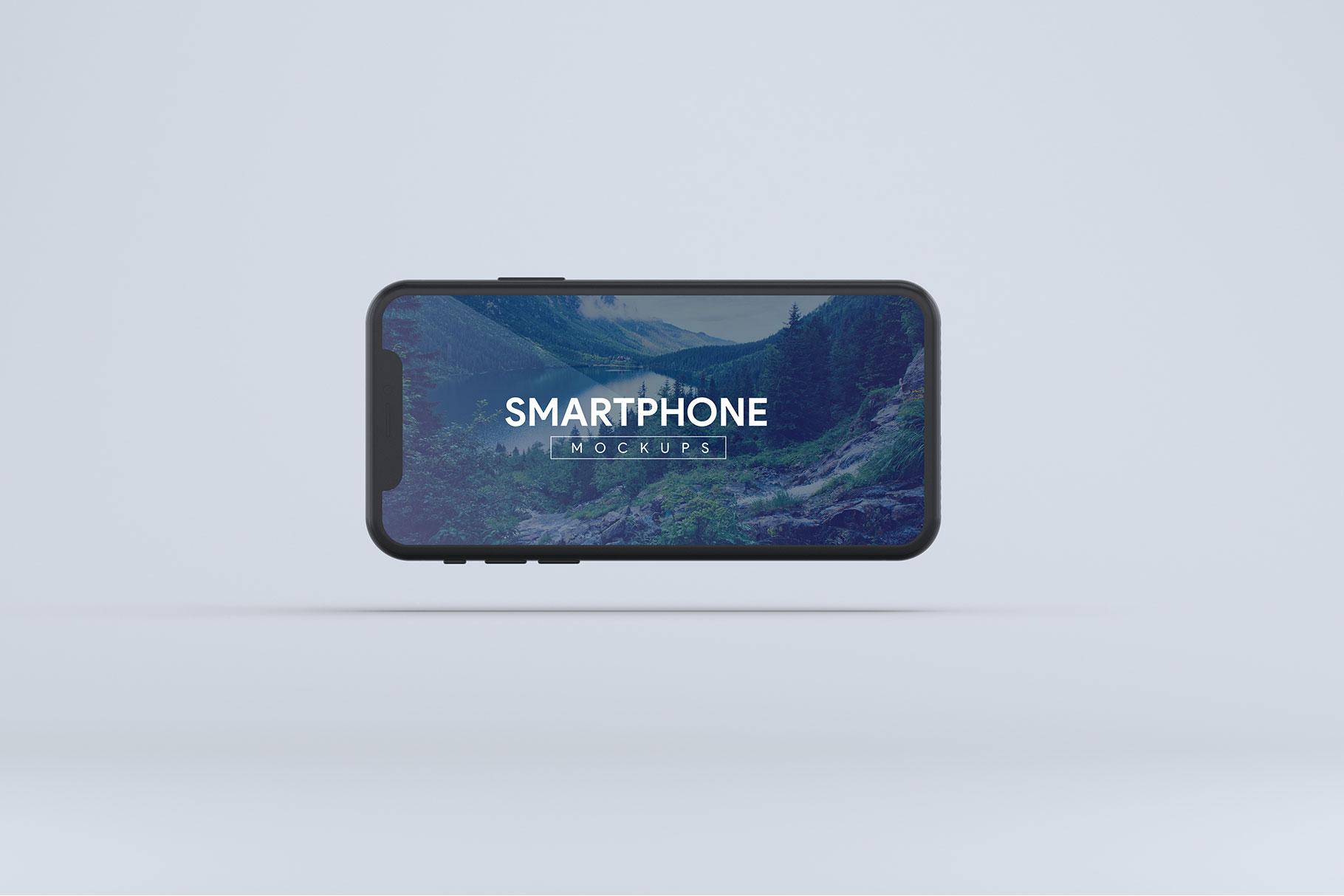 Smartphone Mock-Ups example image 6