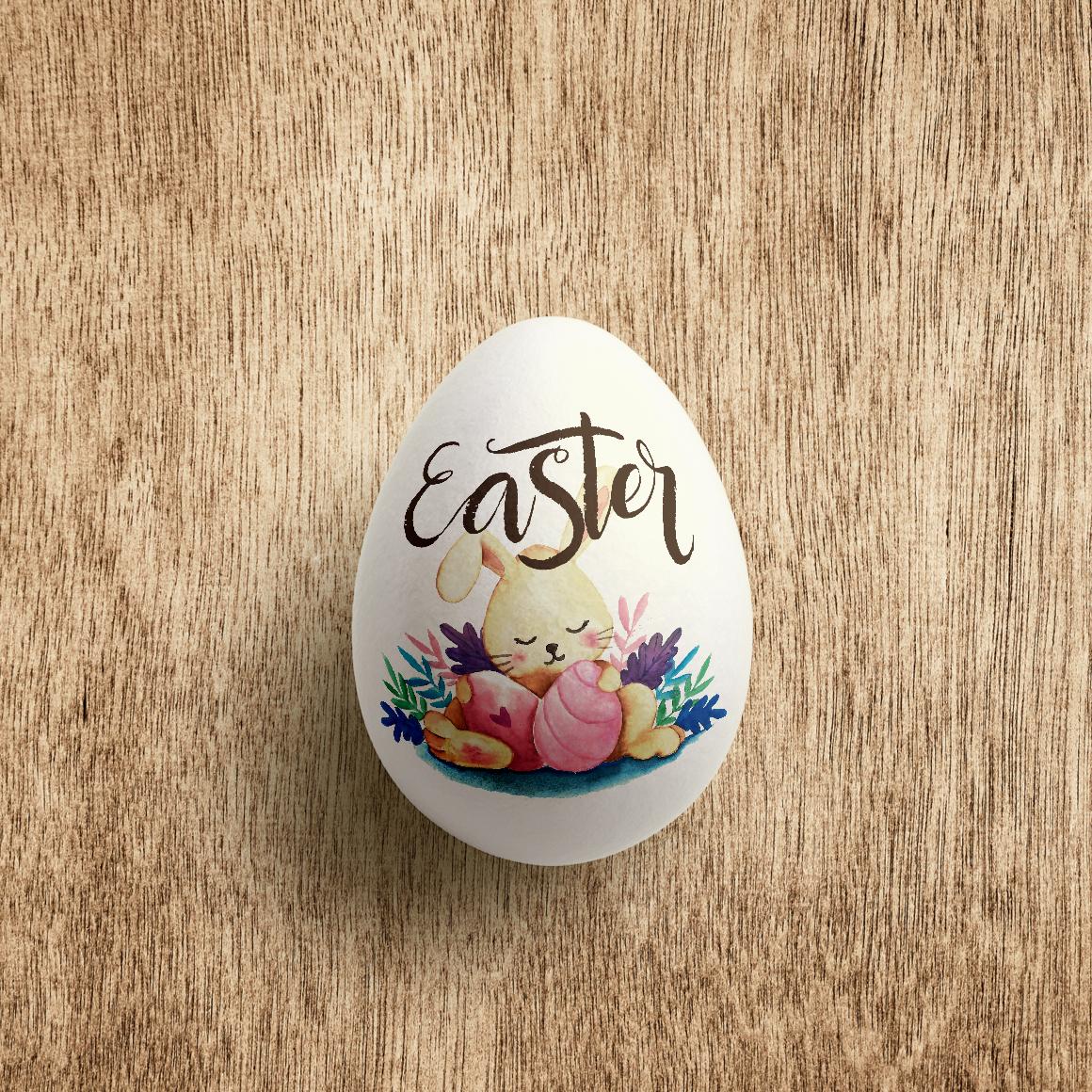 Easter Egg Mockup example image 4