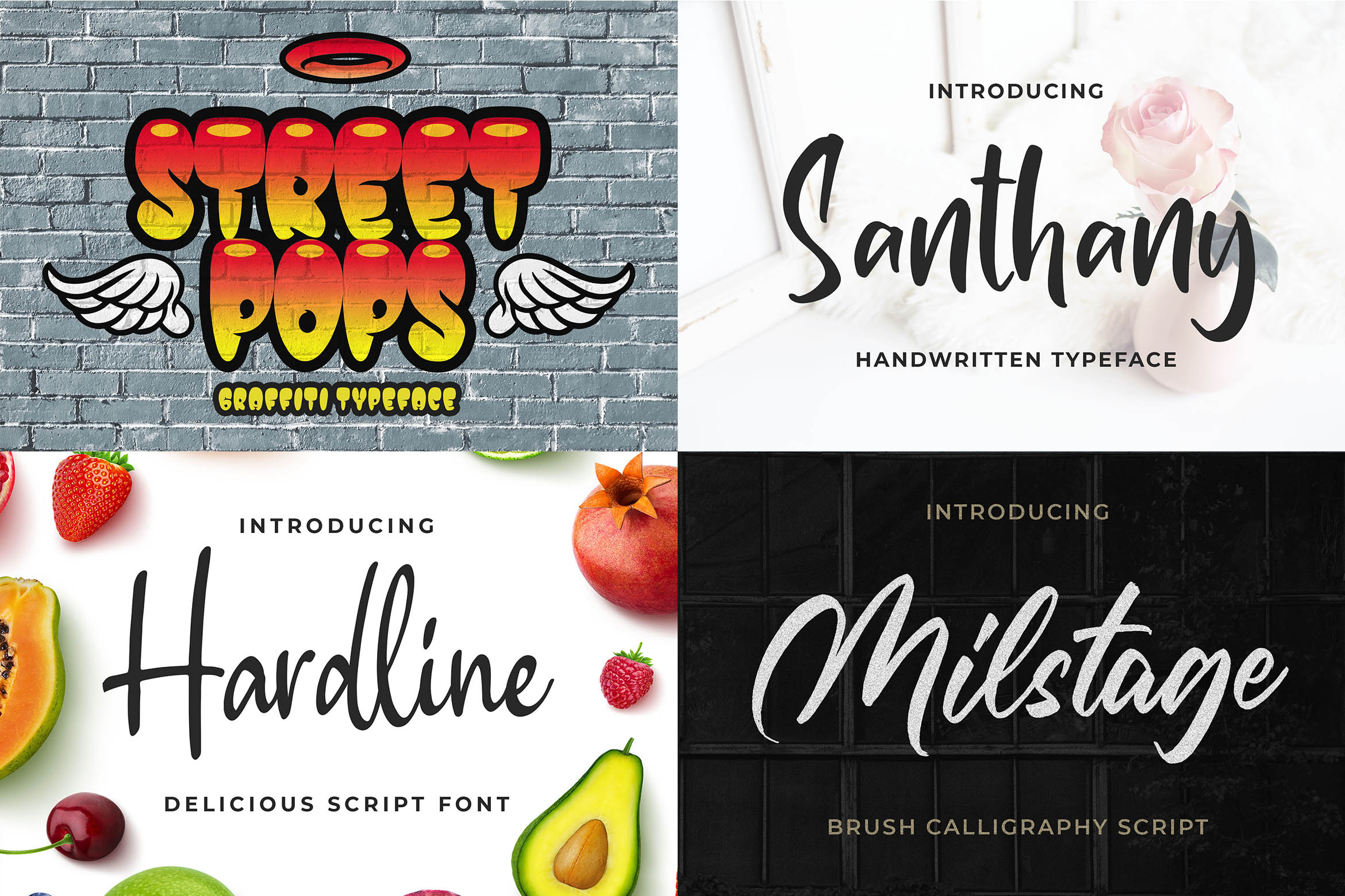 New Year Big Bundle - Crafting Fonts Collection example image 16