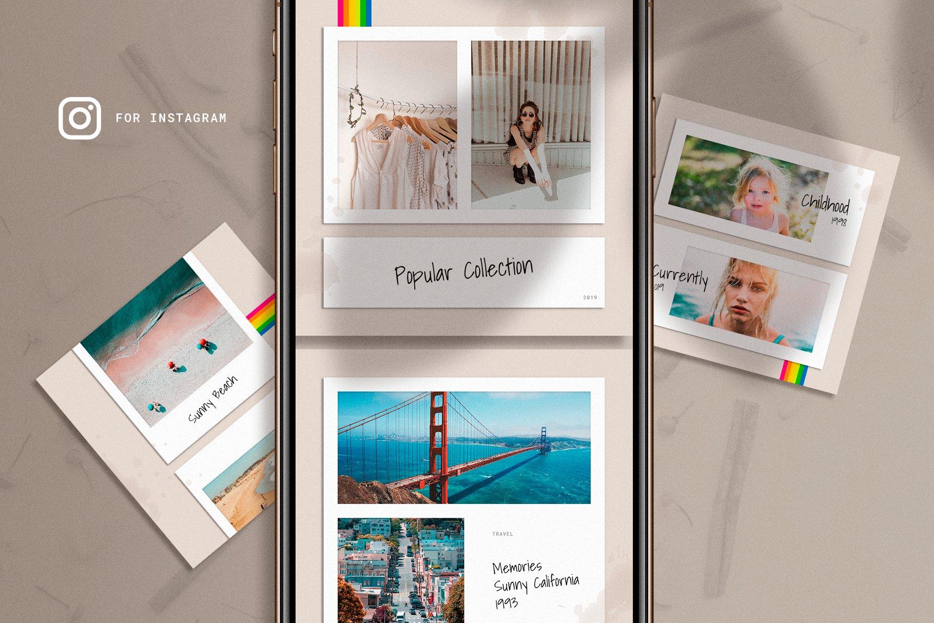Polaboard Instagram Social Kit example image 3