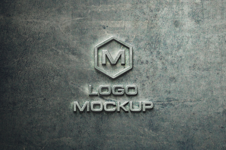 3D Logo Mock-up Bundle example image 11