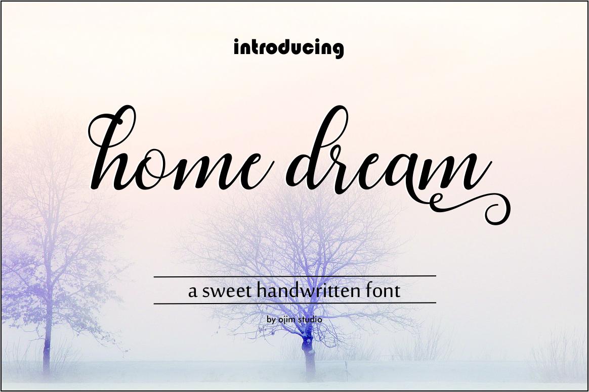 HOME DREAM SCRIPT example image 1