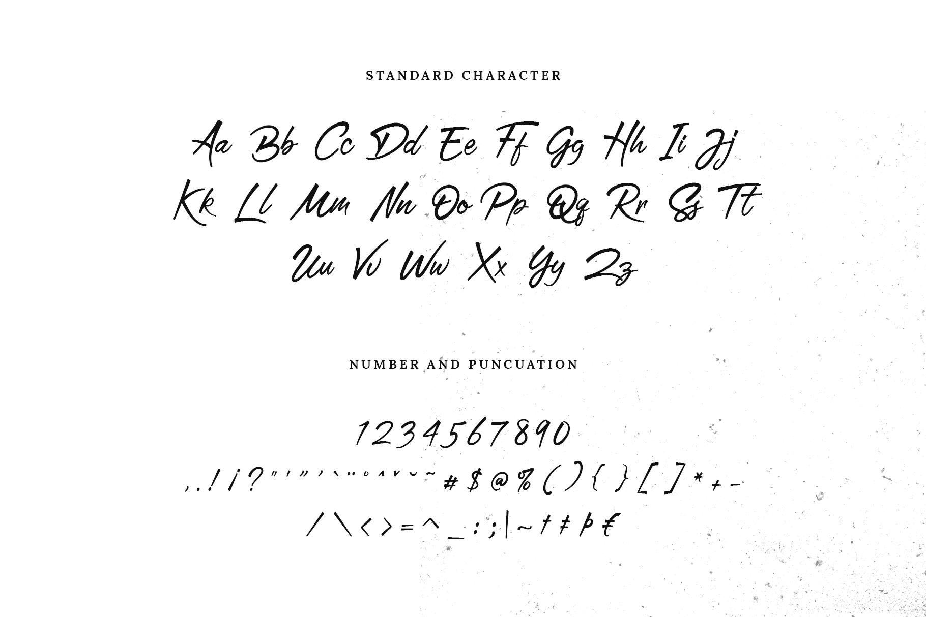 San Joaquin font example image 4