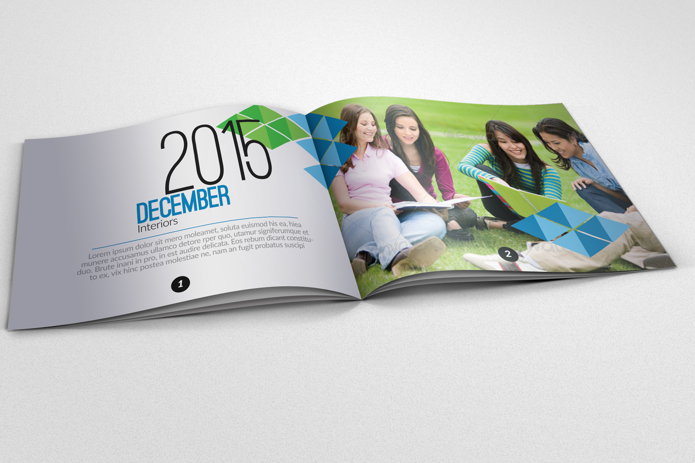 20 Pages Catalogue Education Bifold Brochure example image 1