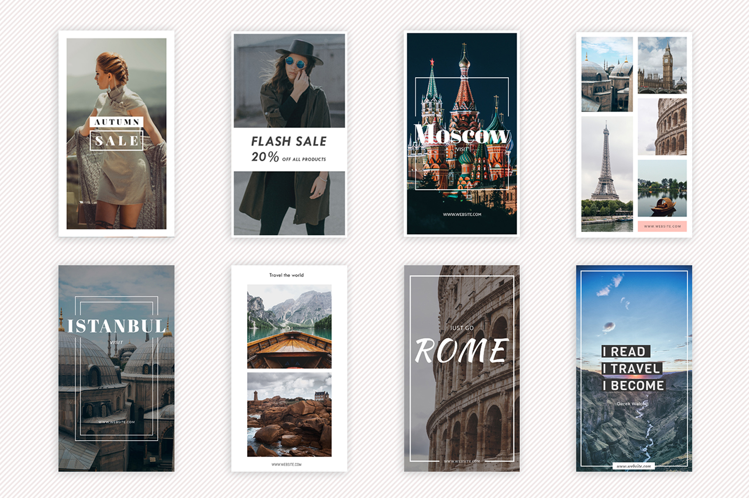 25 Instagram Stories Templates example image 4