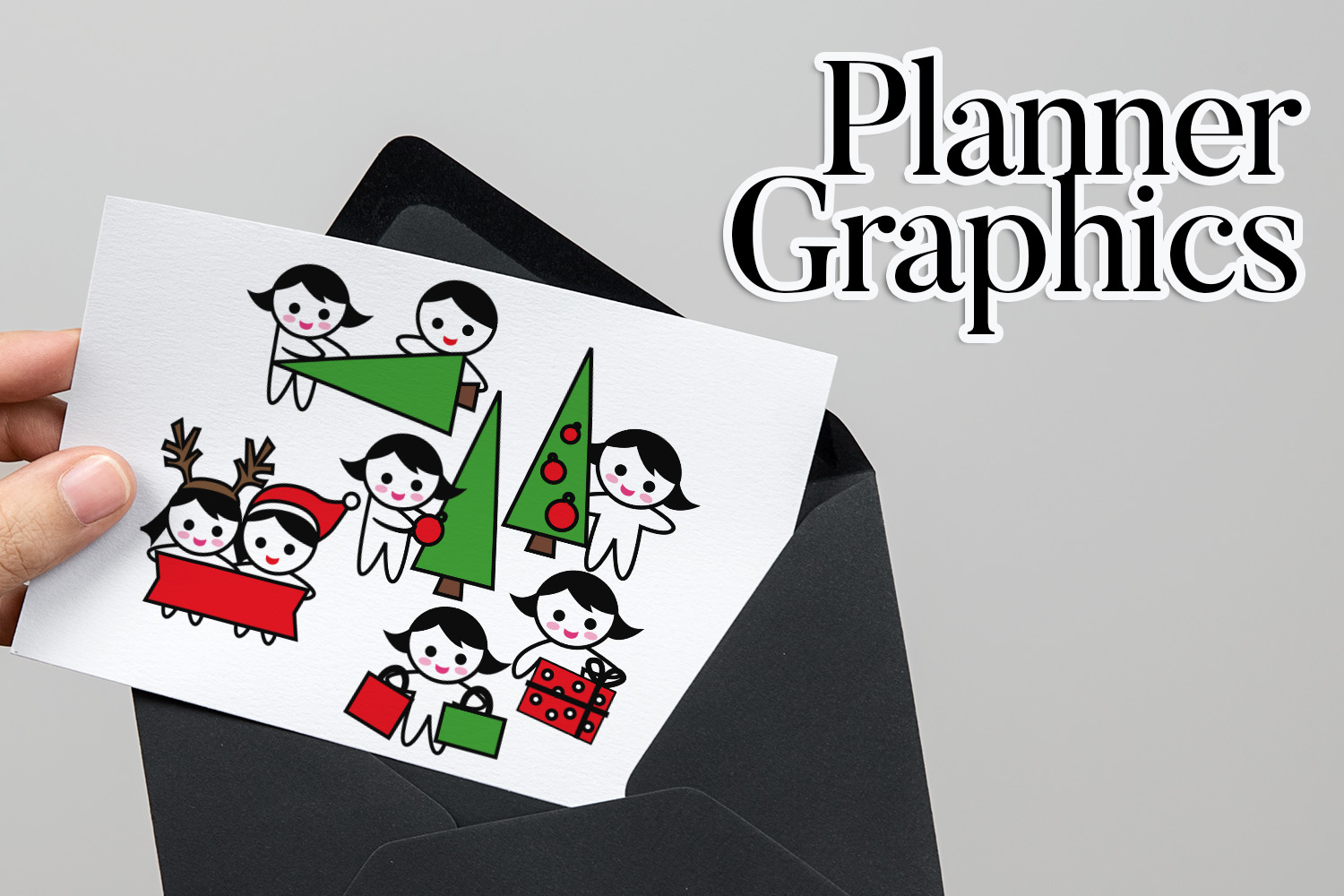 Holidays Bundle - Planner Graphic Illustrations example image 8