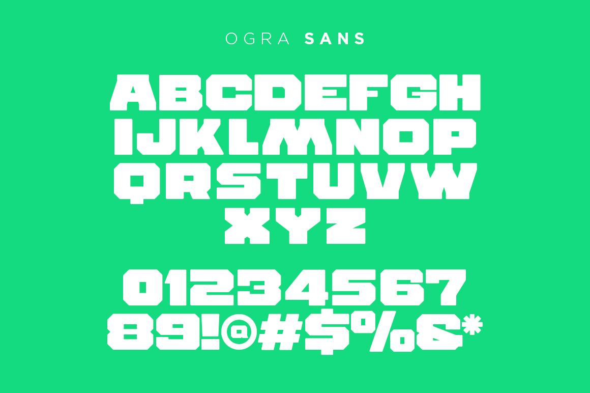 Durango & Ogra Font Duo example image 3