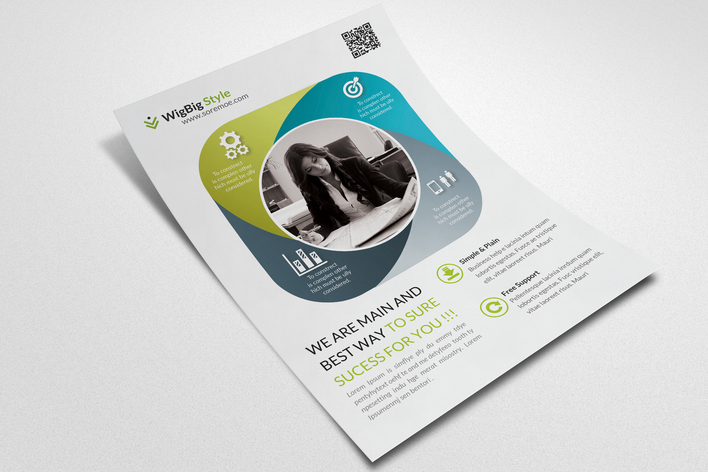 Business Flyers Templates example image 2