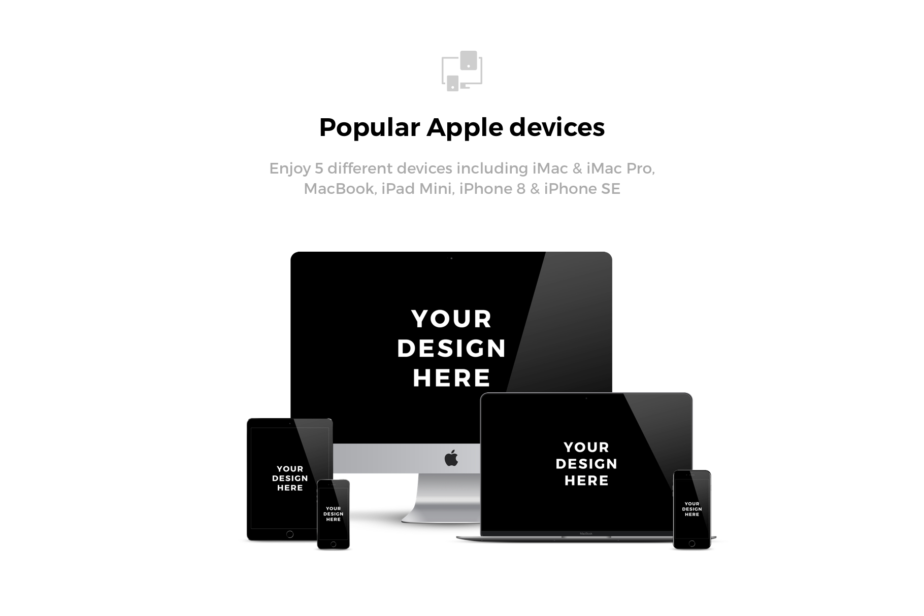 230x Apple Mockups Bundle example image 2