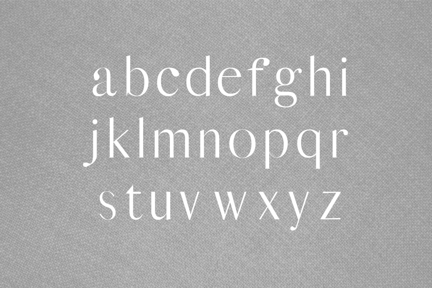Yessica Sans Serif Font Family example image 3