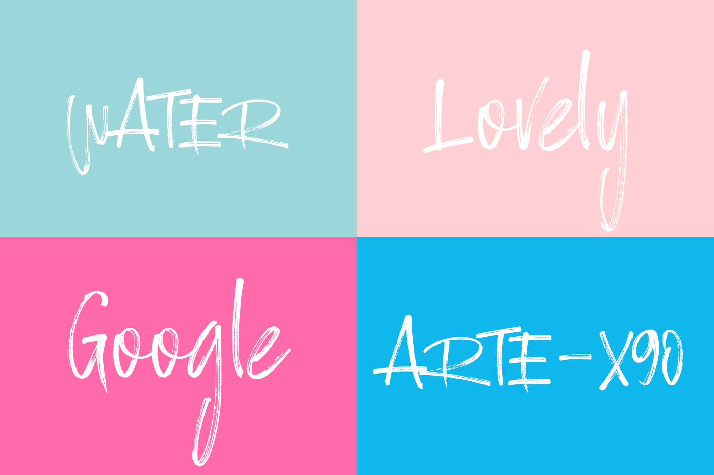Ramsterink Brush Font example image 3