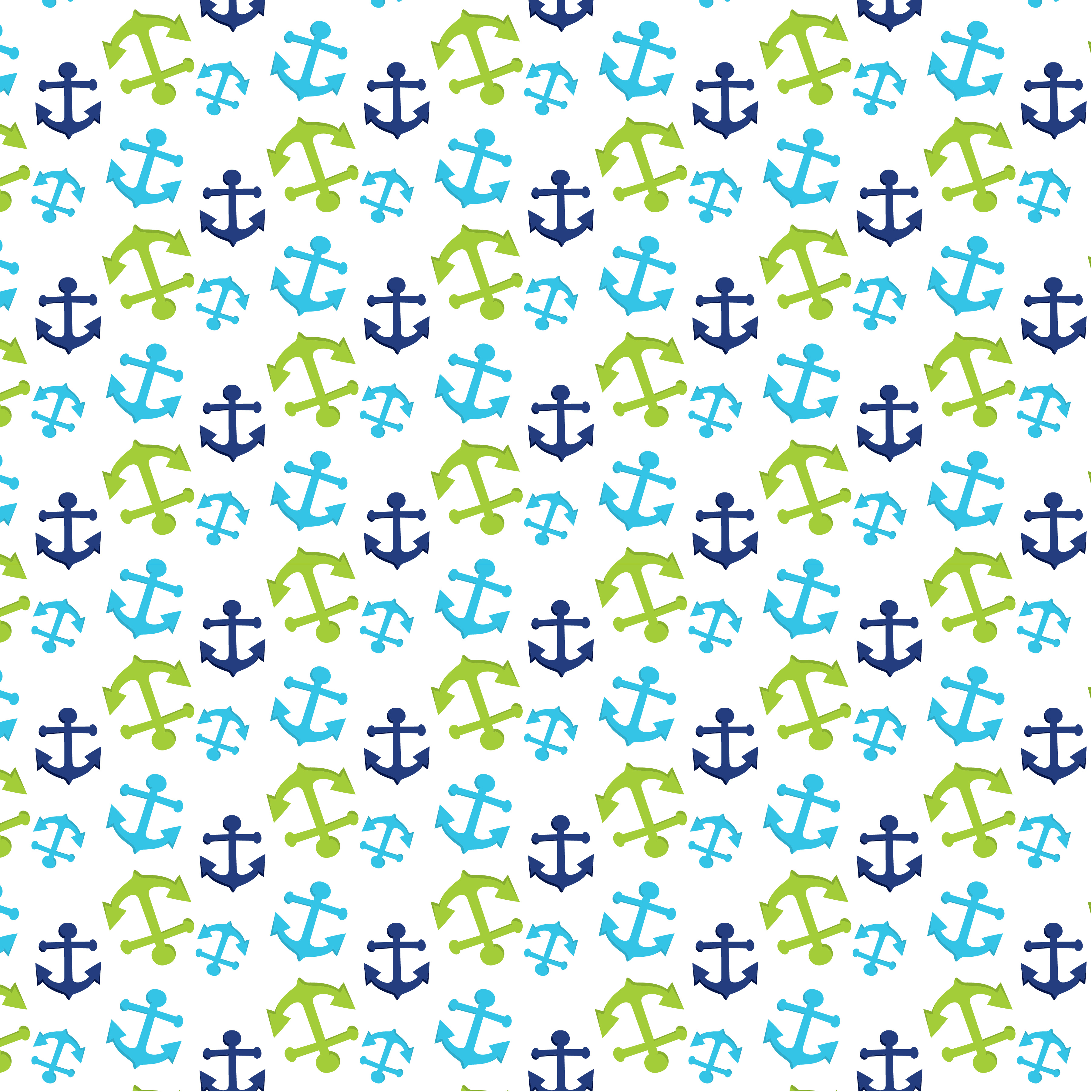 NAUTICAL-WHALES, digital papers example image 5