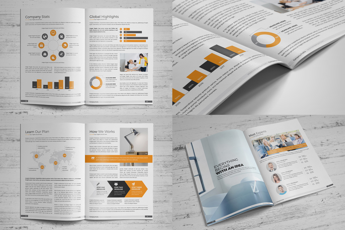 Company Profile Bundle example image 7