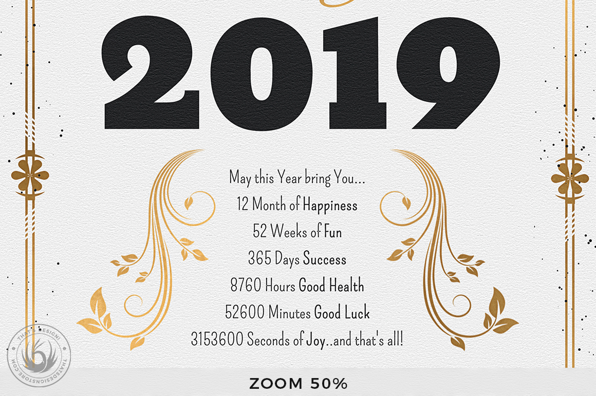 New Year Menu Template V1 example image 10
