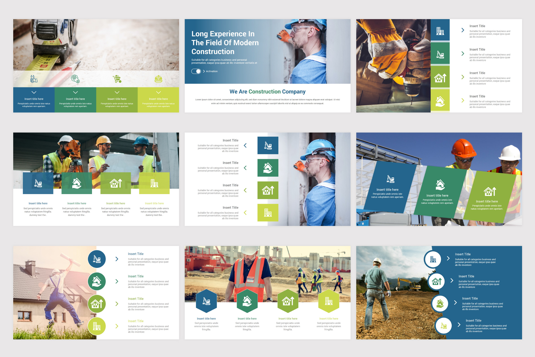 Construction Keynote Template example image 7