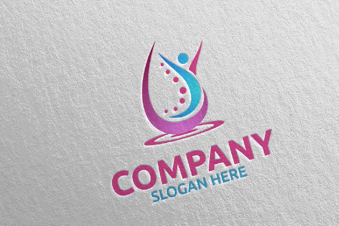Massage Logo Design 11 example image 3