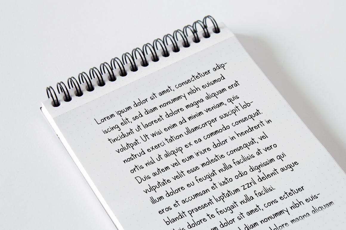 Kanda Handwriting Typeface example image 2