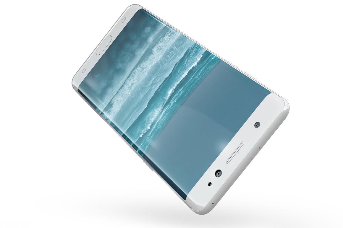 Samsung Galaxy Note 7 Gravity Mockup example image 11