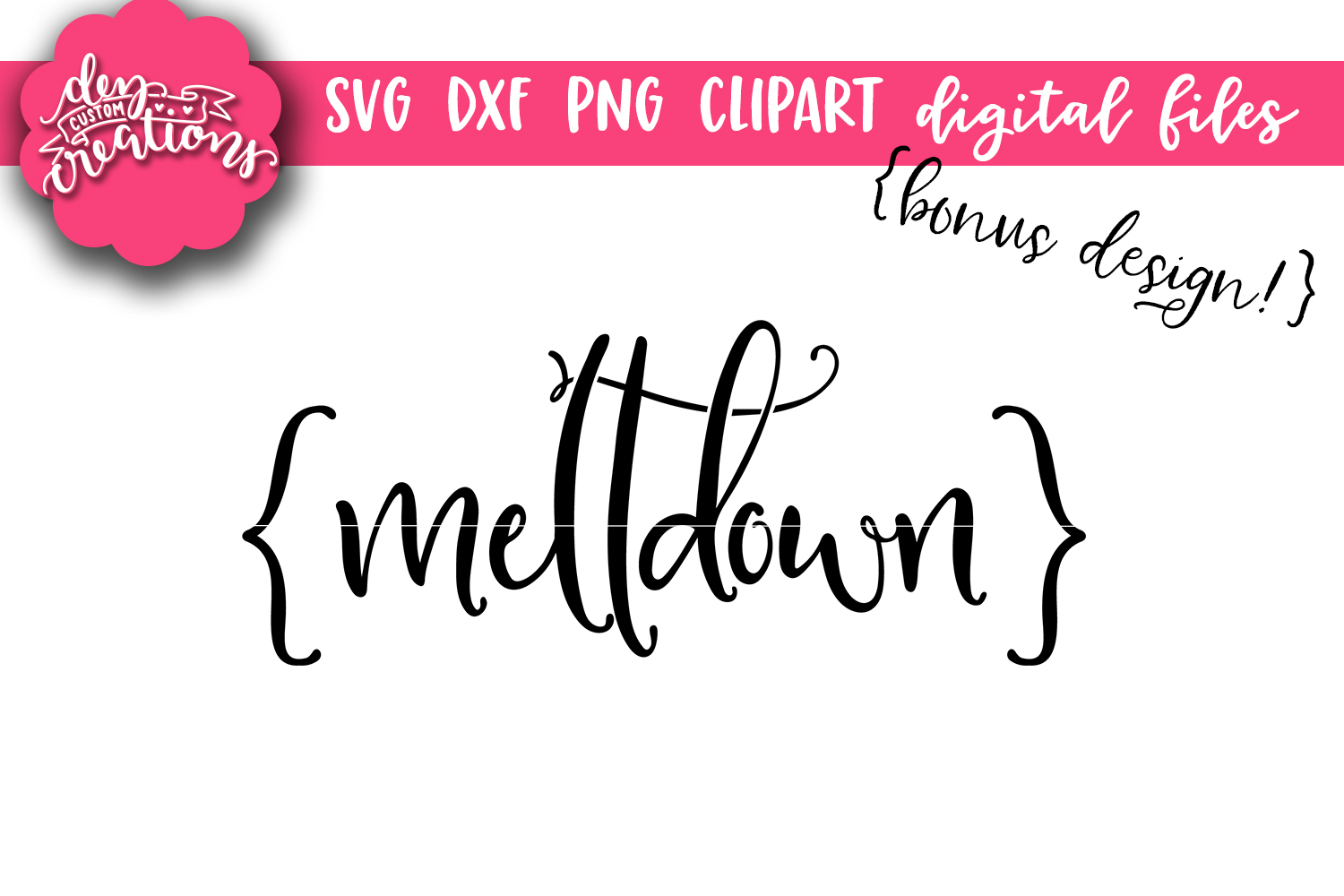 Surviving Motherhood One Meltdown at a Time - SVG, DXF, PNG example image 4