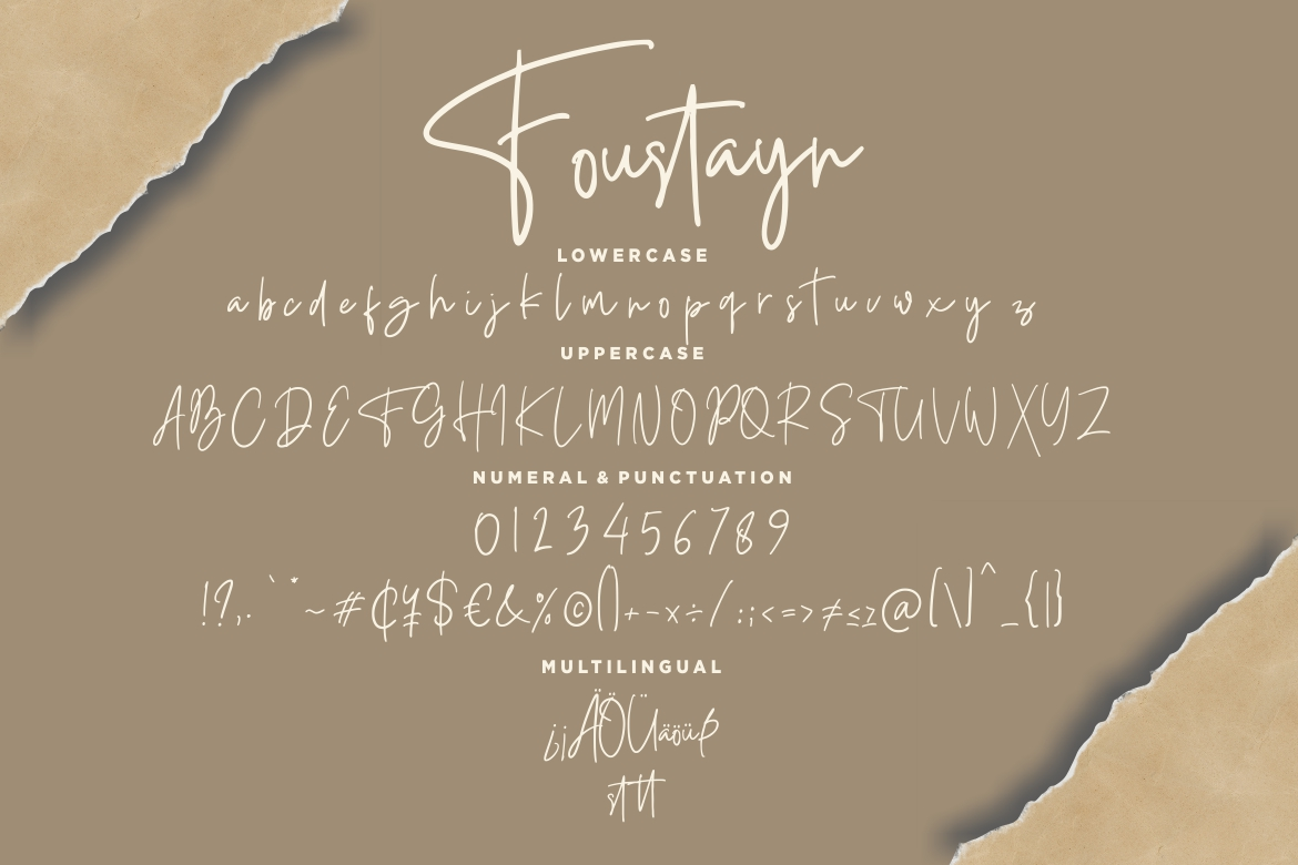 Foustayn Signature Collection example image 7