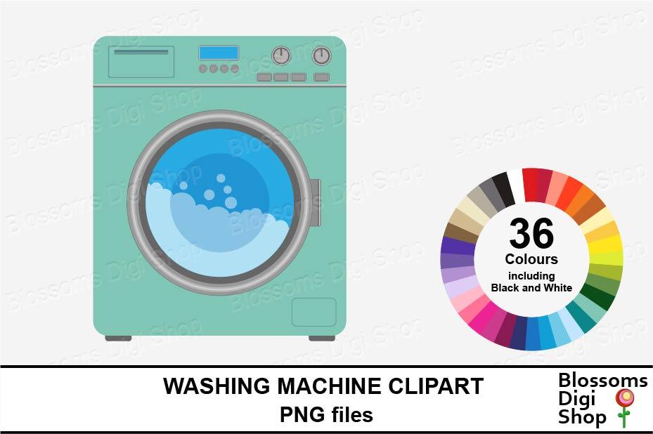 Washing Machine Clipart example image 1