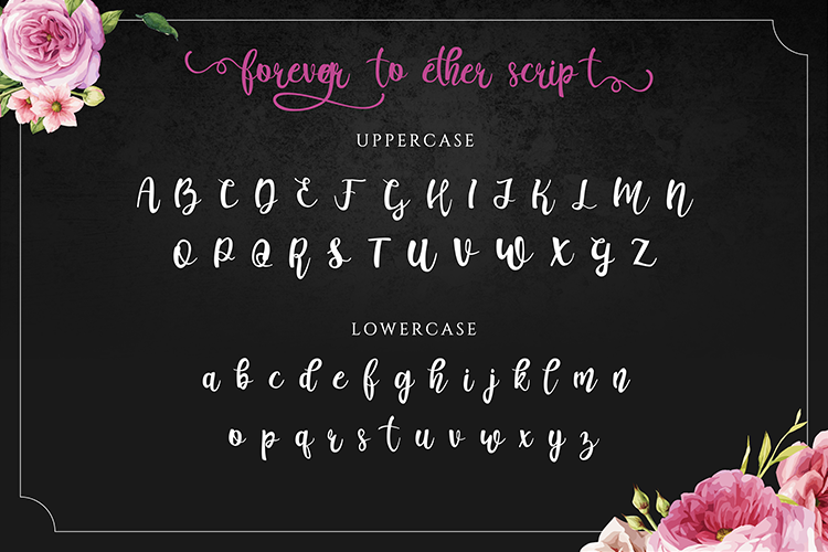 Forever Together - Romantic Font Duo example image 3