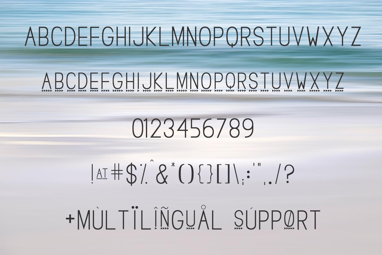 Breakwater Sans Font example image 2