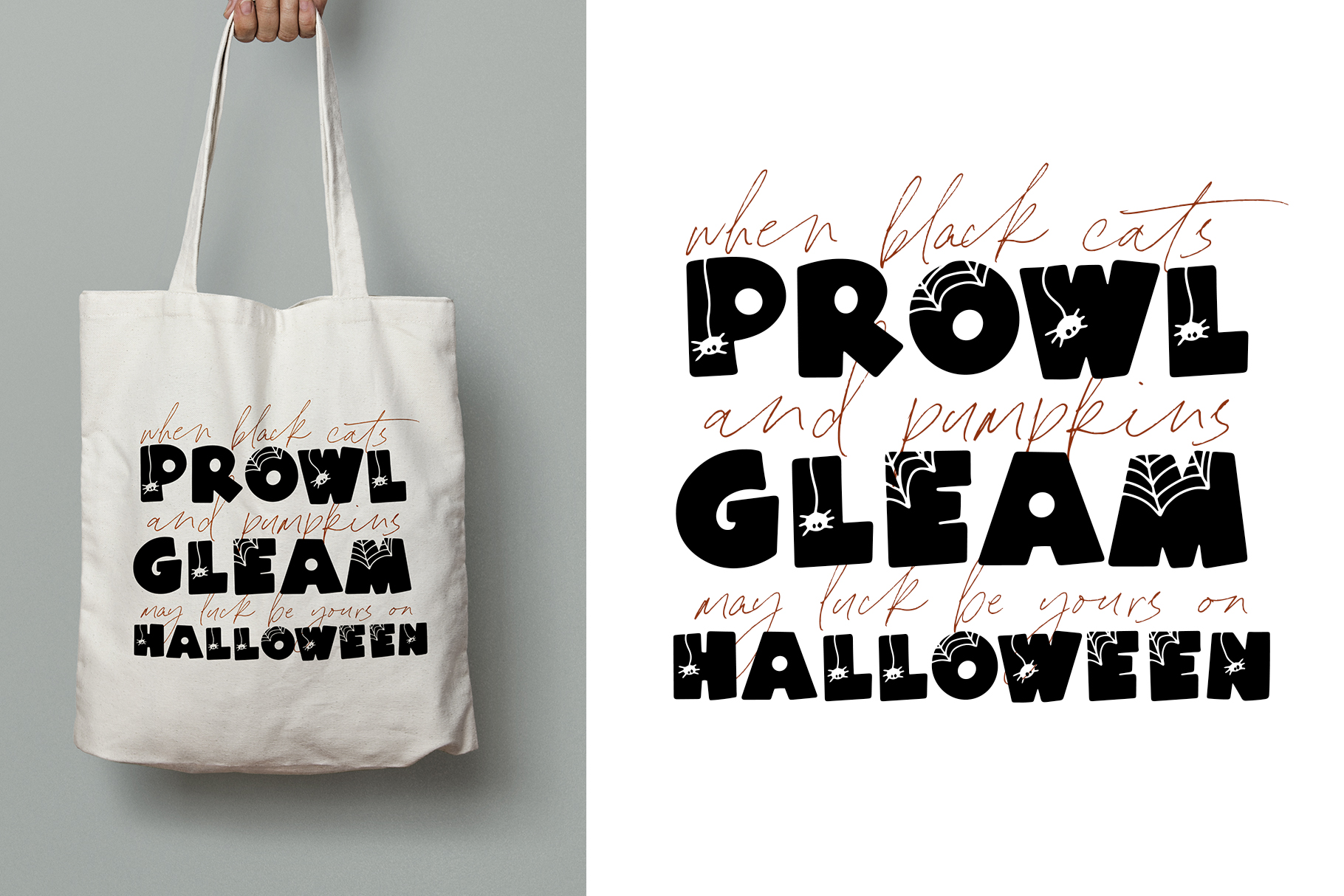 Spooky - A Quirky Halloween Font example image 4