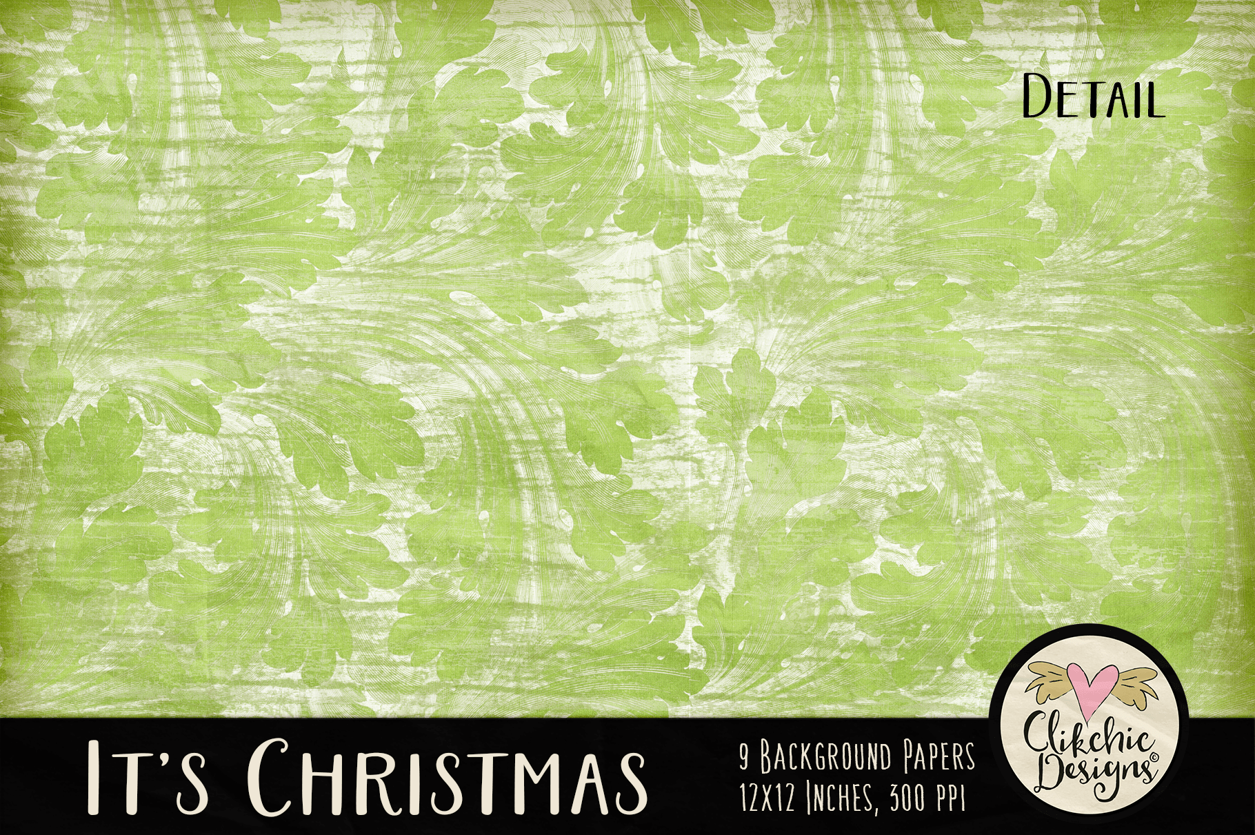Christmas Backgrounds - Christmas Digital Papers Textures example image 3