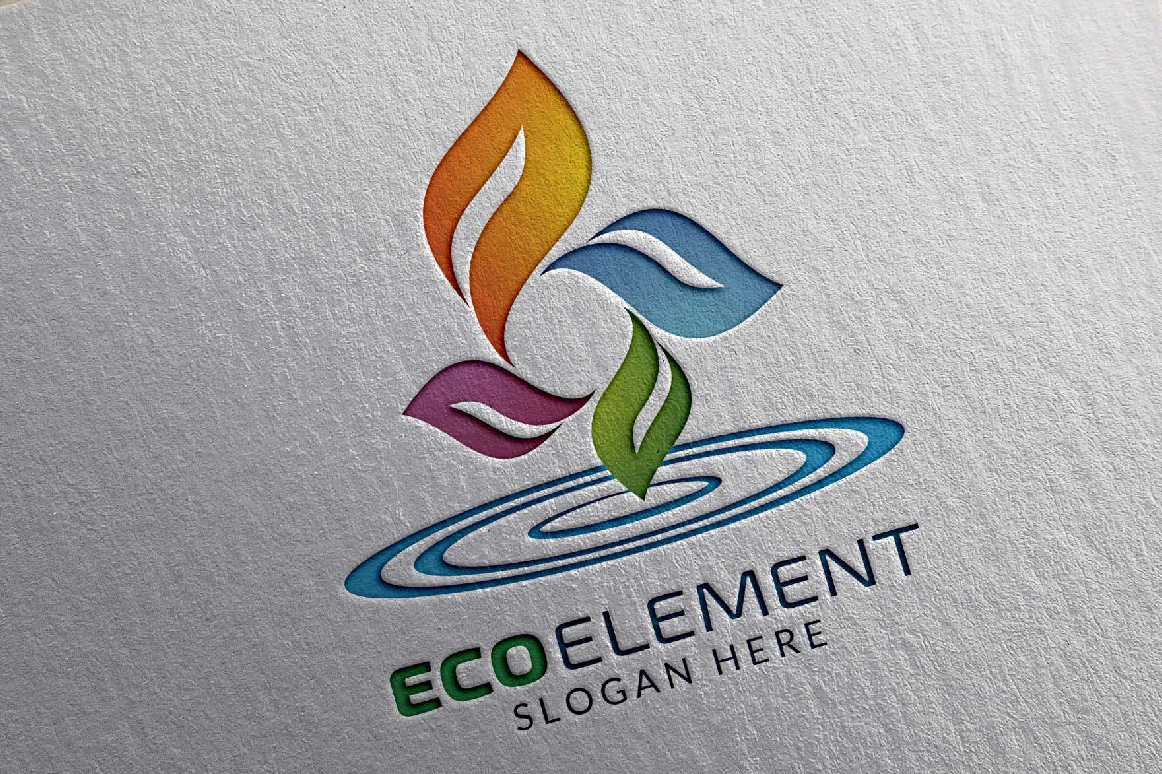 Infinity Green Element Ecology logo example image 2