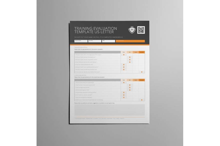 Training Evaluation Template US Letter example image 5