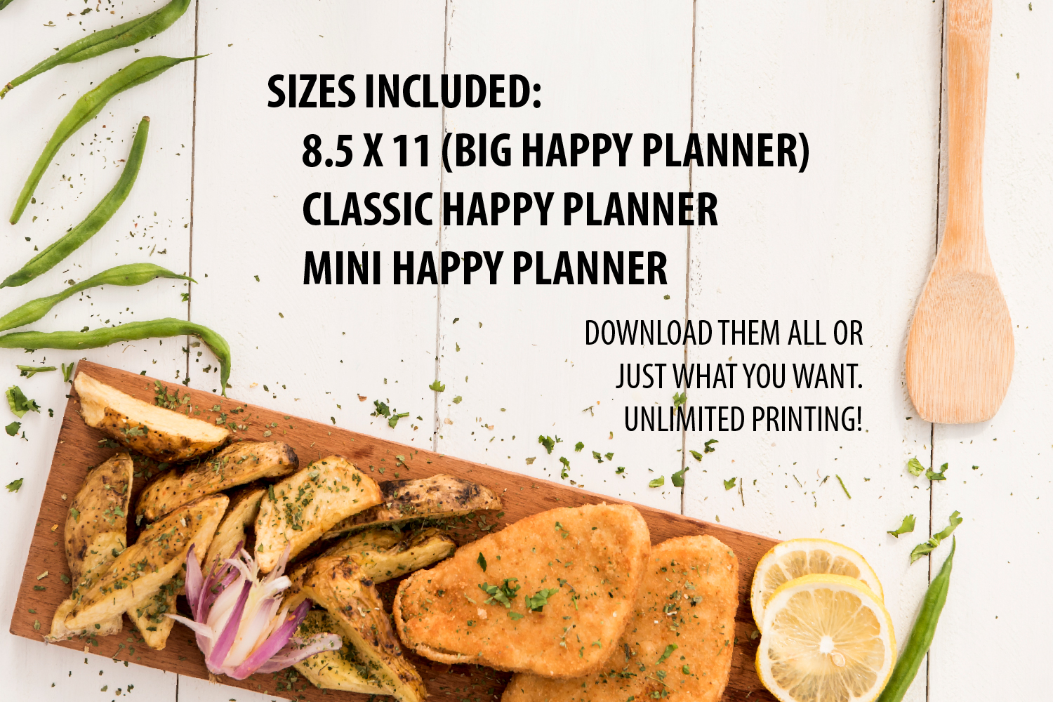 Meal Planner Printable example image 8