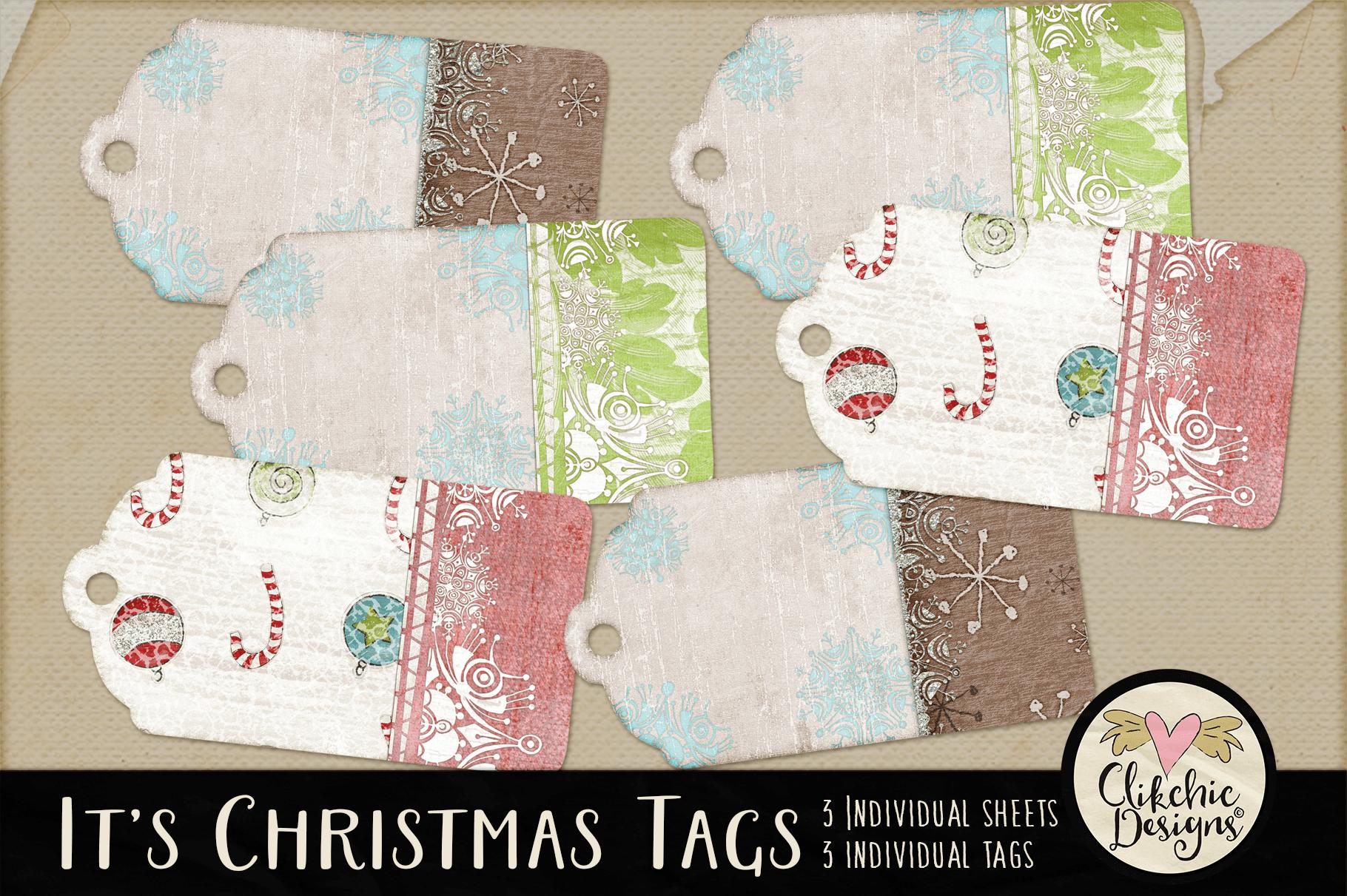 Christmas Tags - Printable It's Christmas Gift Tags example image 1
