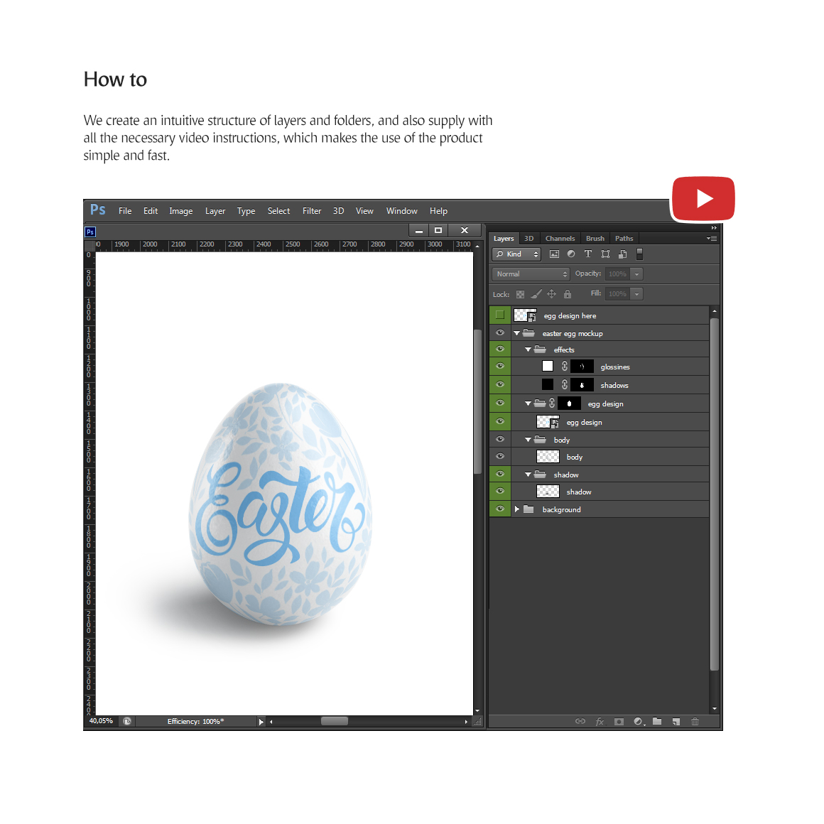 Easter Egg Mockup example image 6